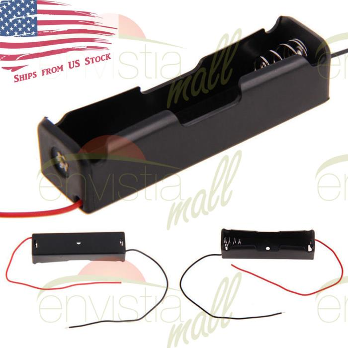Battery Holder Case Clip Box with 6