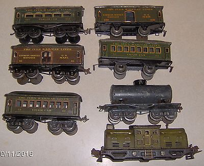LIONEL IVES PASSENGER TRAIN set..