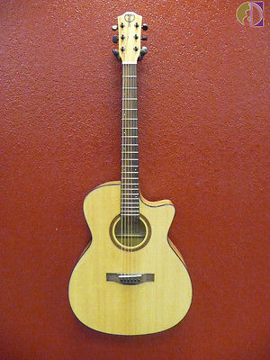 Teton STA130SMCENT Acoustic/Electric Guitar, Free Shipping in USA