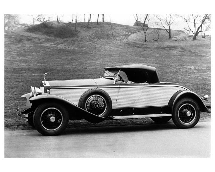 1929 Rolls Royce York Roadster ORIGINAL Factory Photo oub0508