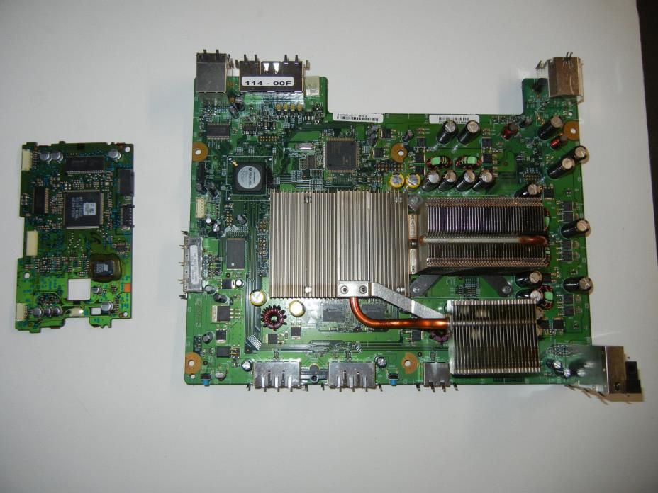 Xbox 360 motherboard with matched Samsung DVD board WORKING replacement NON-HDMI