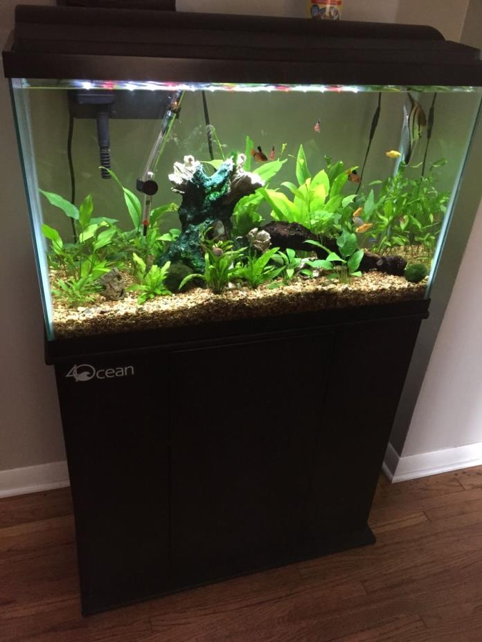 Aqueon 29 gallon aquarium