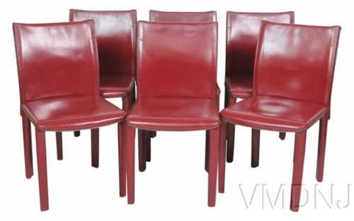 VMD1067 Le Casillas Red Side Chairs