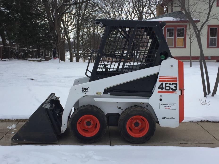 BOBCAT 463 DIESEL  SKID STEER LOADER  ONLY 292 HOURS