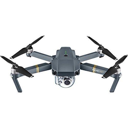 DJI Mavic Pro Collapsible Quadcopter Drone Ultimate Bundle w/ Remote Controller