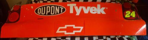 Jeff Gordon Rear Bumper NASCAR Race Used Sheet Metal