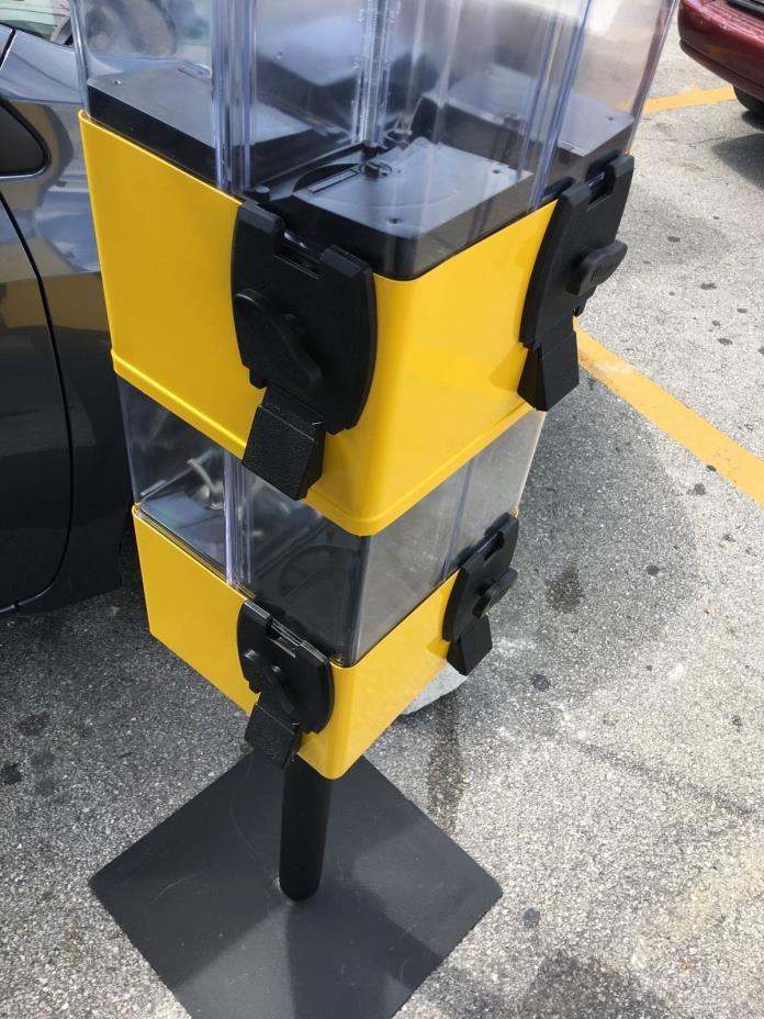 U TURN 8 Head TERMINATOR Machine CANDY GUMBALL TOY VENDING 8 Select