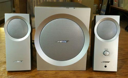 Bose Companion 3 Speaker System