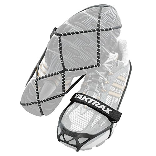 Yaktrax Pro Traction Cleats for Walking, Jogging, or Hiking on Snow and Ice