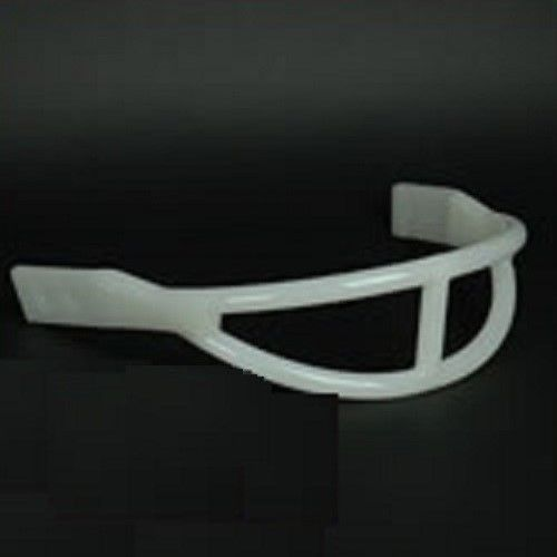 Football Helmet Face Mask - White