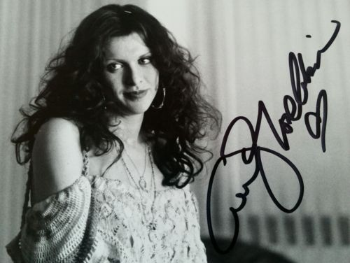 VERY RARE SIGNED AS 'LOVE COBAIN COURTNEY LOVE SIGNED PHOTO KURT COBAIN'S WIFE