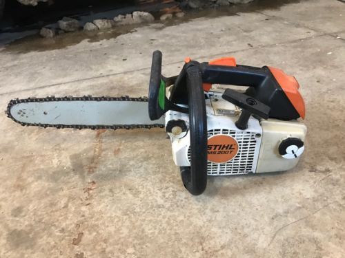 stihl ms200t Chainsaw 14