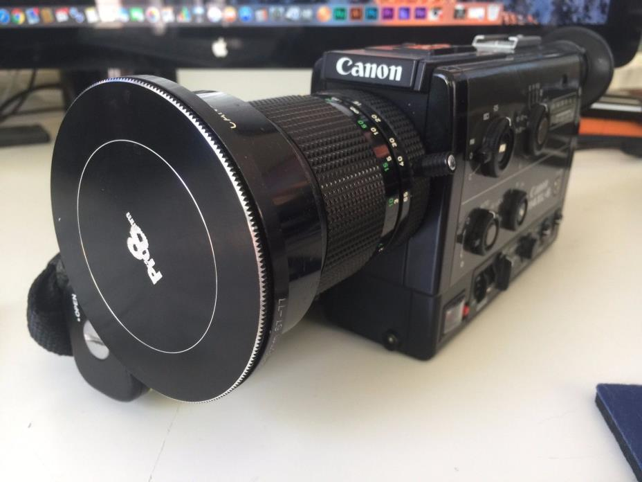 Canon 1014 XL-S Super 8 Max 8 Camera - refurbished by Pro8mm in 2010