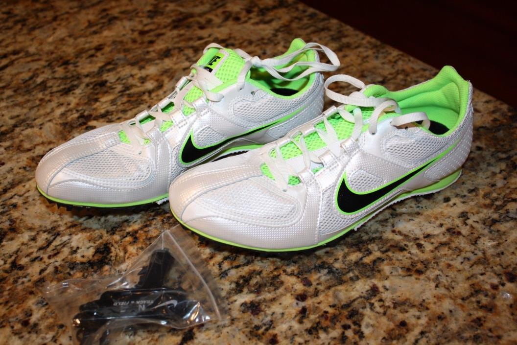 Track Shoes Spikes Nike Rival MD Men's 8 Track and Field Running 468648-103 Run