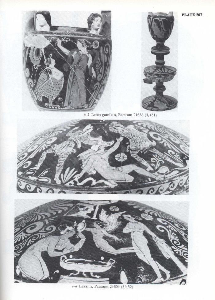 The Red-Figured Vases of Paestum by A.D.Trendall  452 pp.; 242 plates