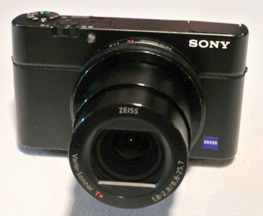 Sony Cyber-shot RX100 III  DSC-RX100M3  Digital Camera Black