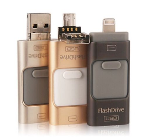32GB USB 3 In 1 i Flash Drive Memory Stick for Apple iPhone Android iPad PC