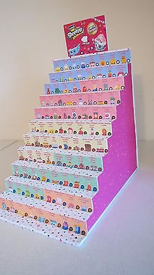 NEW! Shopkins Season 6 Display Stand /Complete Checklist -Custom Made