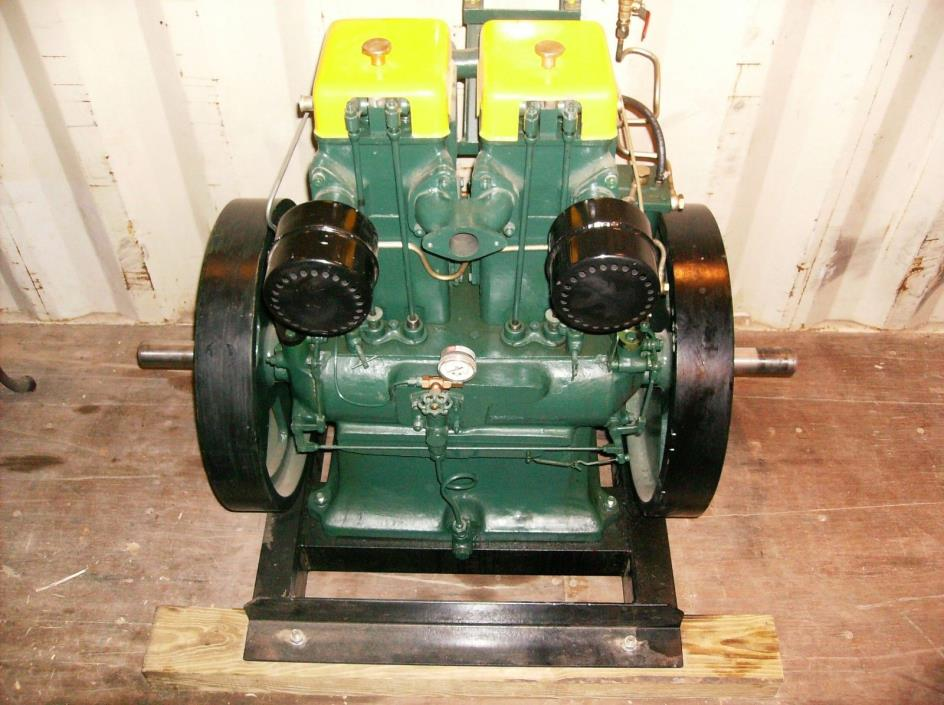 Lister type CS 16/2 Diesel Twin Cyl, Listeroid, Oil Engine, FORD, Generator