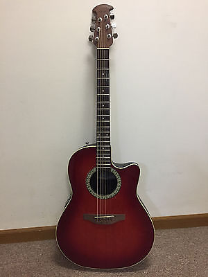 Ovation 1771 Acoustic Electric Guitar