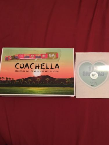 (1) GA Coachella Weekend 2