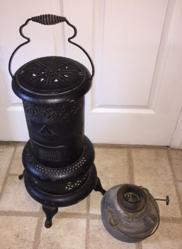 ANTIQUE PERFECTION OIL HEATER STOVE NO.525