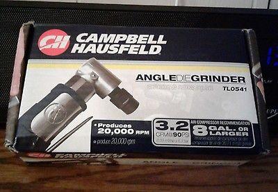 CAMPBELL HAUSFELD ANGLE DIE GRINDER TL0541