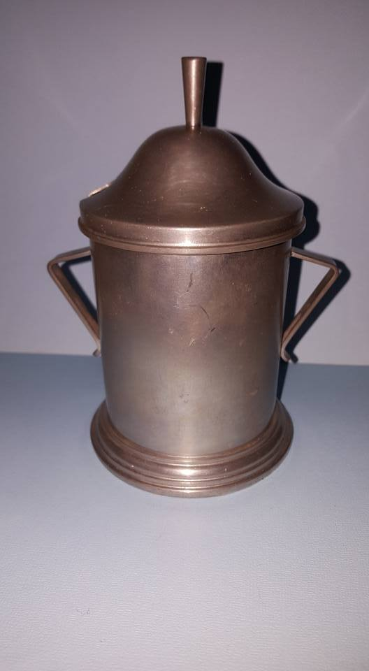 Tiel Holland Pewter for Lachman & Co. Sugar Canister