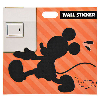 Mickey Mouse Wall Tablet Stickers DISNEY JAPAN Room decoration Switch