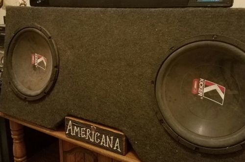 2 12Inch Subwoofers