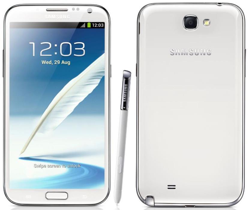 UNLOCKED GSM VERIZON I605 SAMSUNG GALAXY NOTE 2  WHITE