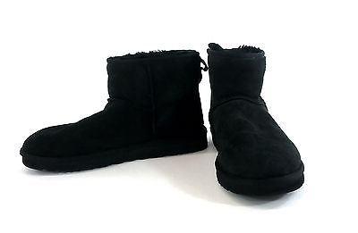 UGG Mens Classic Mini - Black Suede US Size 10