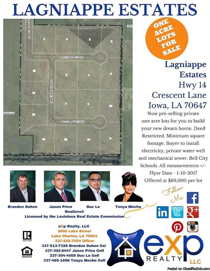 One Acre Lots For Sale - Iowa