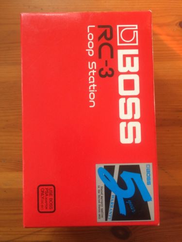 Boss RC-1 RC1 Loop Station Pedal