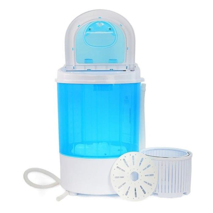Mini Portable Washing Machine Washer with Spin Dry Basket 6.6lbs,Apartments, RV