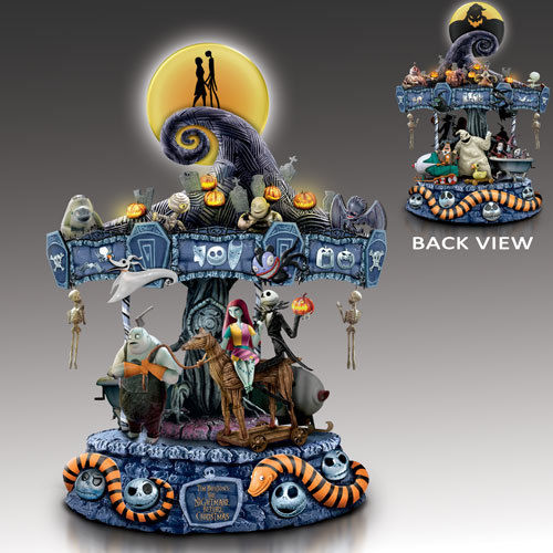 Bradford Exchange - NIGHTMARE MUSICAL CAROUSEL The Nightmare Before Christmas