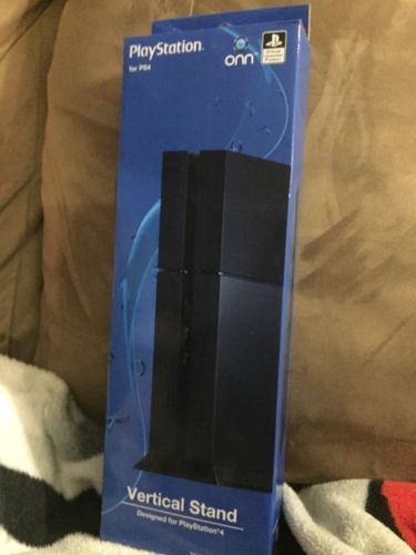 ONN Vertical Stand for PlayStation 4 - Officially Licensed - Free Ship!