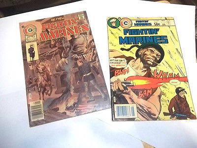 Charlton  Comics FIGHTIN MARINES 60s #156,129 VG VG++