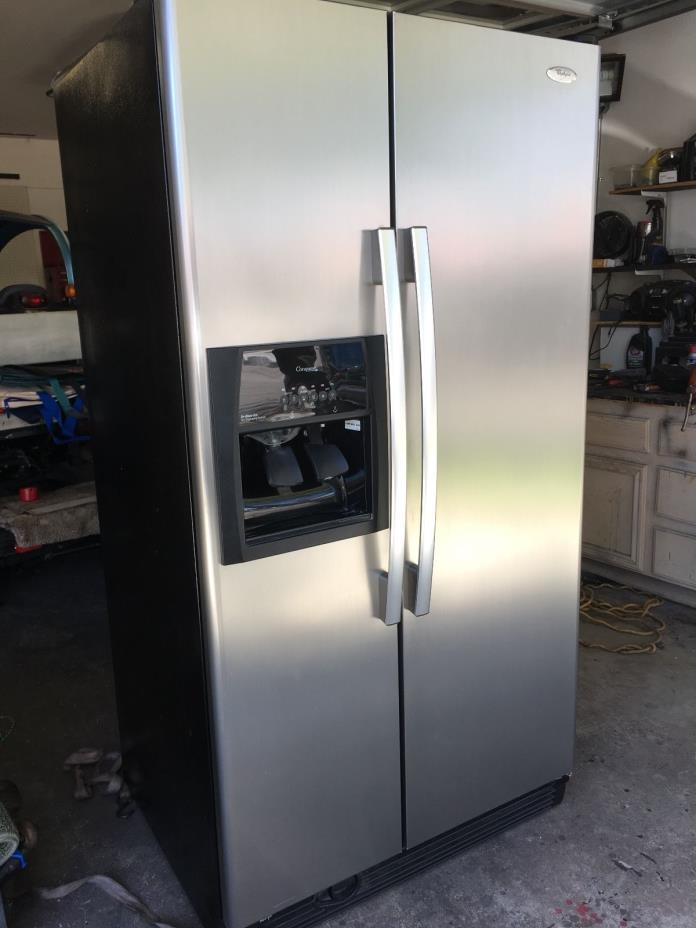 stainless steel whirlpool gold refrigerator for sale classifieds. Black Bedroom Furniture Sets. Home Design Ideas