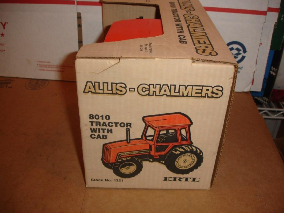 1/16 allis chalmers 8010 coll toy tractor