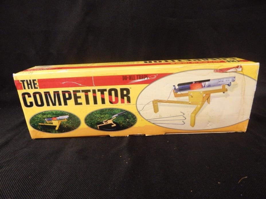 the COMPETITOR steel do-all- traps thrower target skeet shoot pigeon launcher