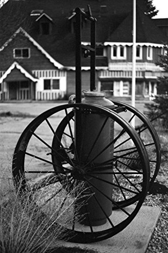 Old Fire Pump - In Panchromatic