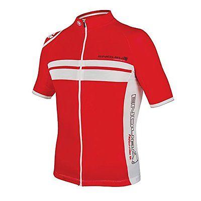 Endura  Men's FS260-Pro SL Lite Short Sleeve Cycling JerseyE3107 (Red ...