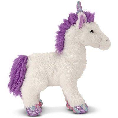 Melissa Plush Pillows & Doug Misty Unicorn Stuffed Animal Fast shipping Free