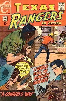 Texas Rangers in Action (1956 Charlton) #73 FN/VF 7.0
