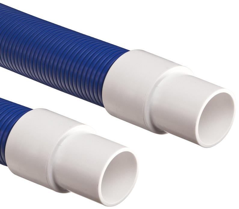 Flexaust Genesis STM Polyethylene Duct Hose, Blue, 2