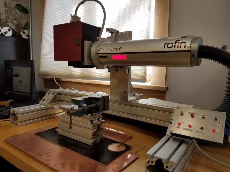 Rofin PowerLine F-20 Fiber Galvo Marking Laser, Plug and Play with PC / Software