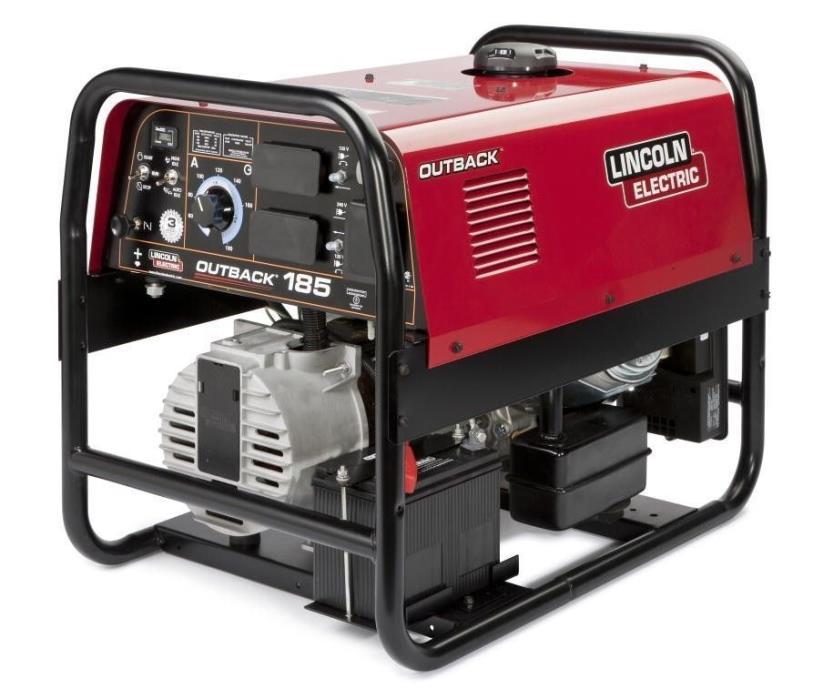 Lincoln Outback 185 Welder Generator New K2706-2