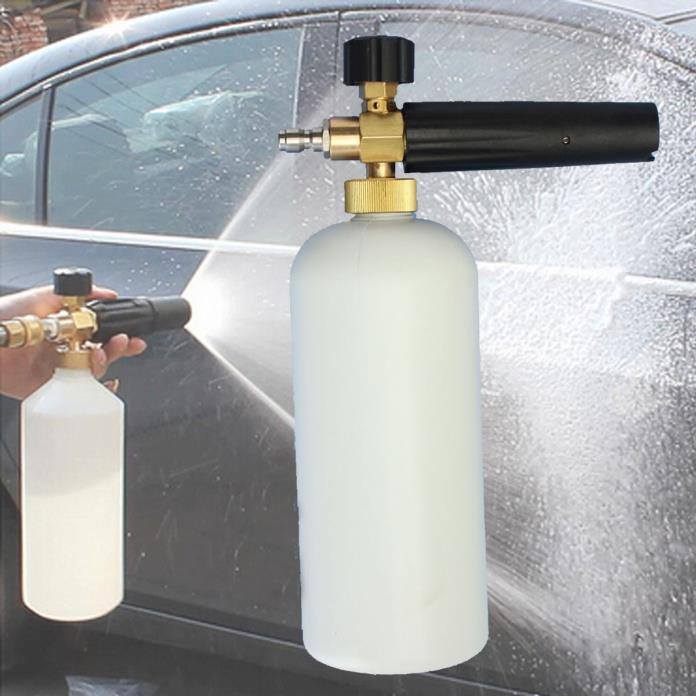 Pressure Washer  Wash 1/4 Adjustable Snow Foam Lance Water Cannon Car Washing ZN