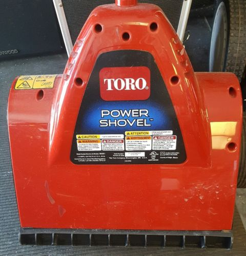 Toro 38361 Power Shovel 7.5 Amp 12-Inch Electric Snow Thrower Blower